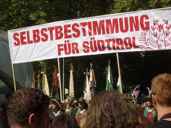 Selbstbestimmung für Südtirol