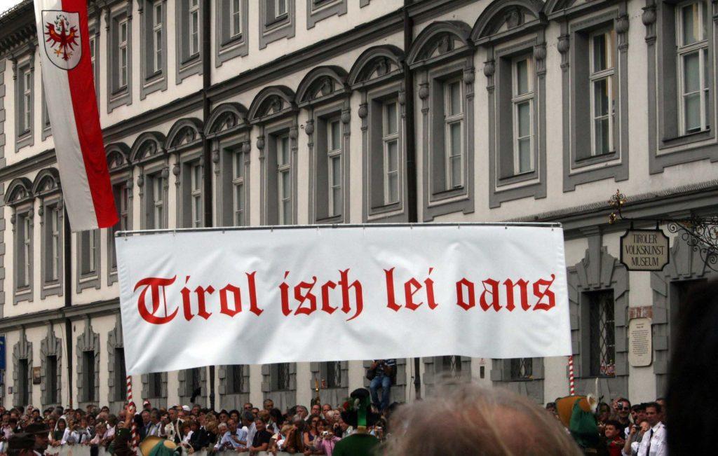 Tirol isch lei oans