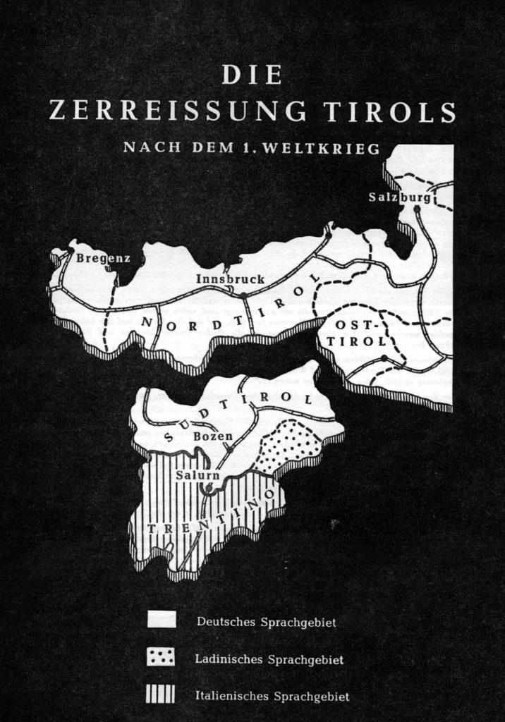 Die Zerreißung Tirols