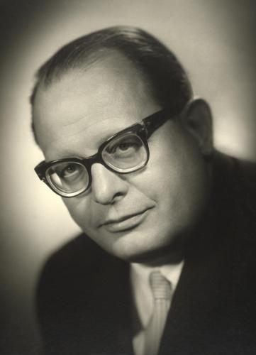 Portraitaufnahme von Heinrich Drimmel