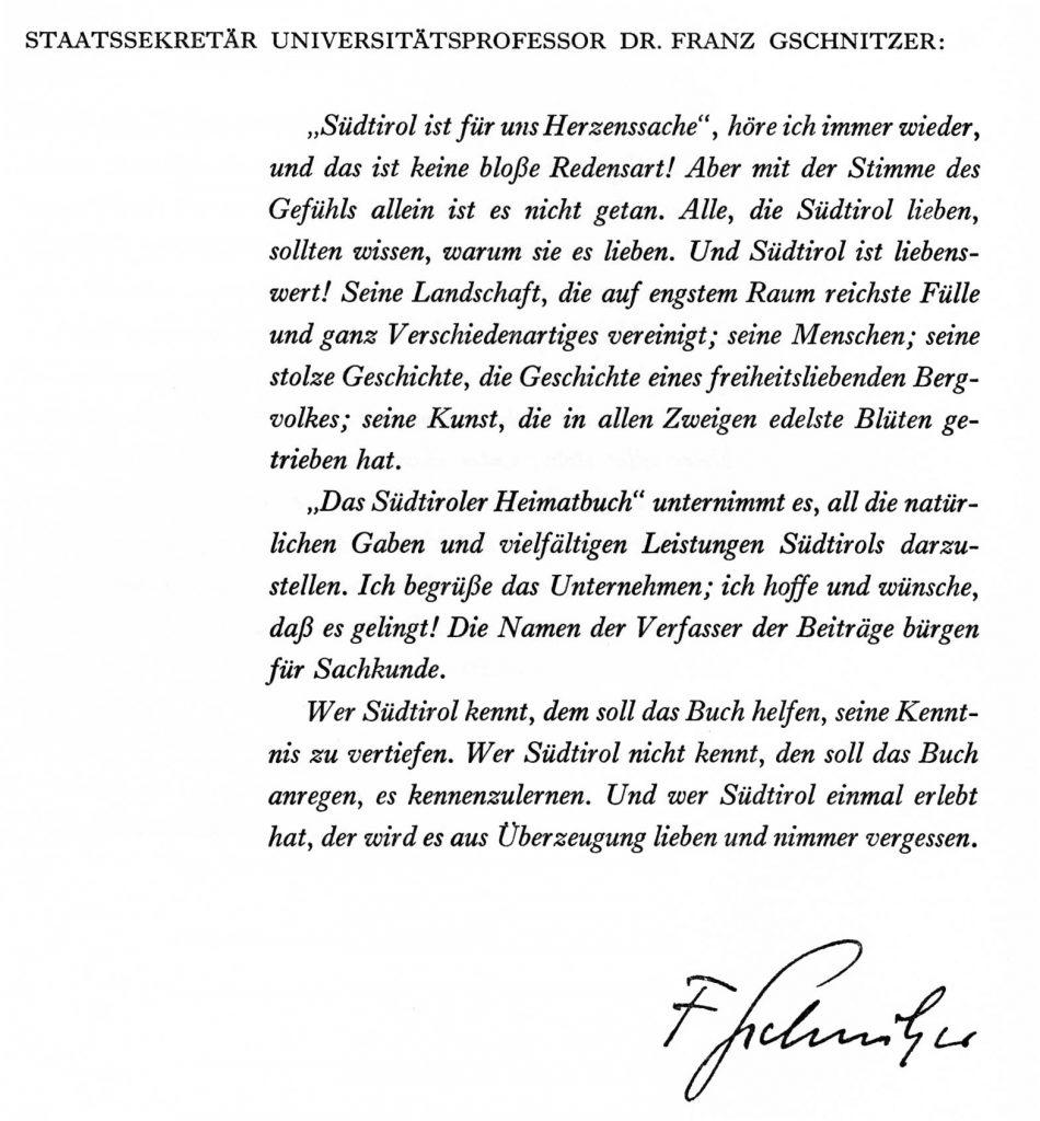 Vorwort Gschnitzer